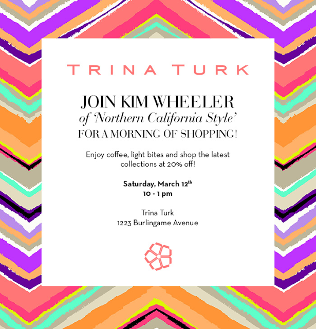 Get Ready For Spring at Trina Turk in Burlingame With Me!