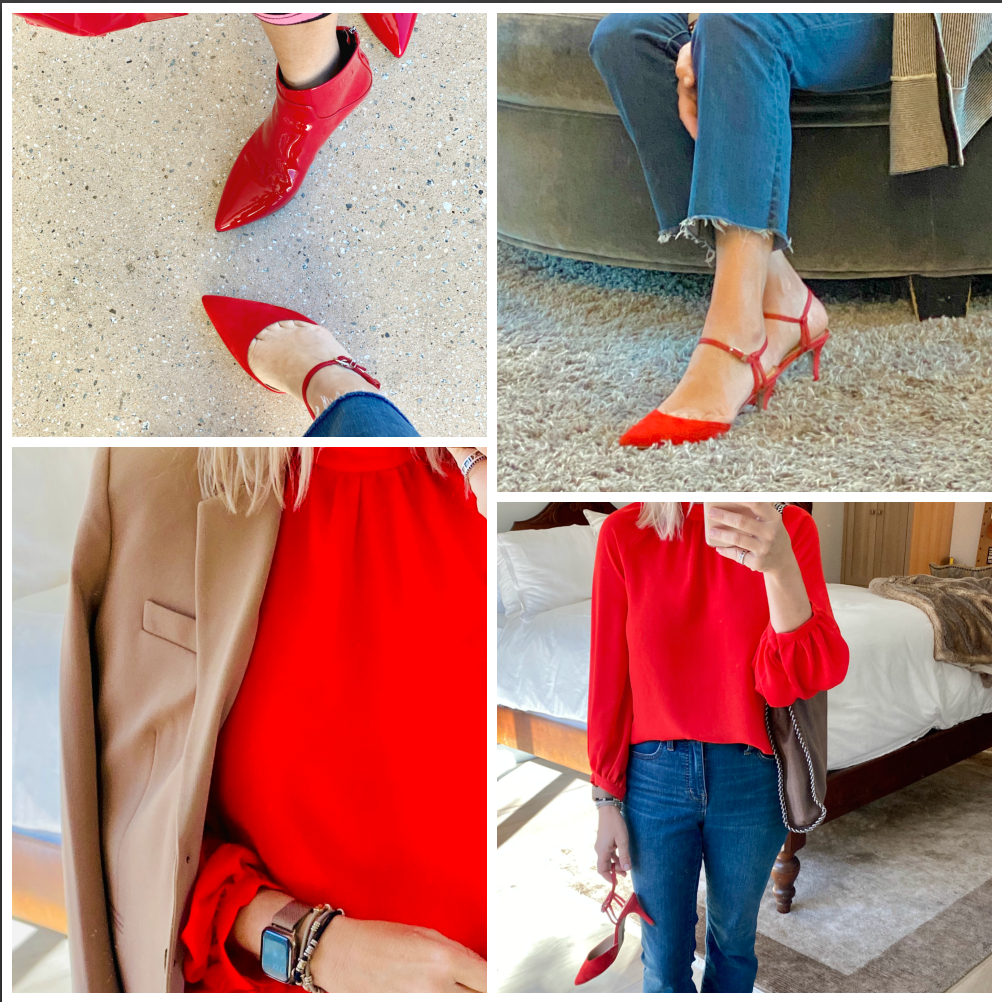 Red Fashion -Not Just for Valentine's Day