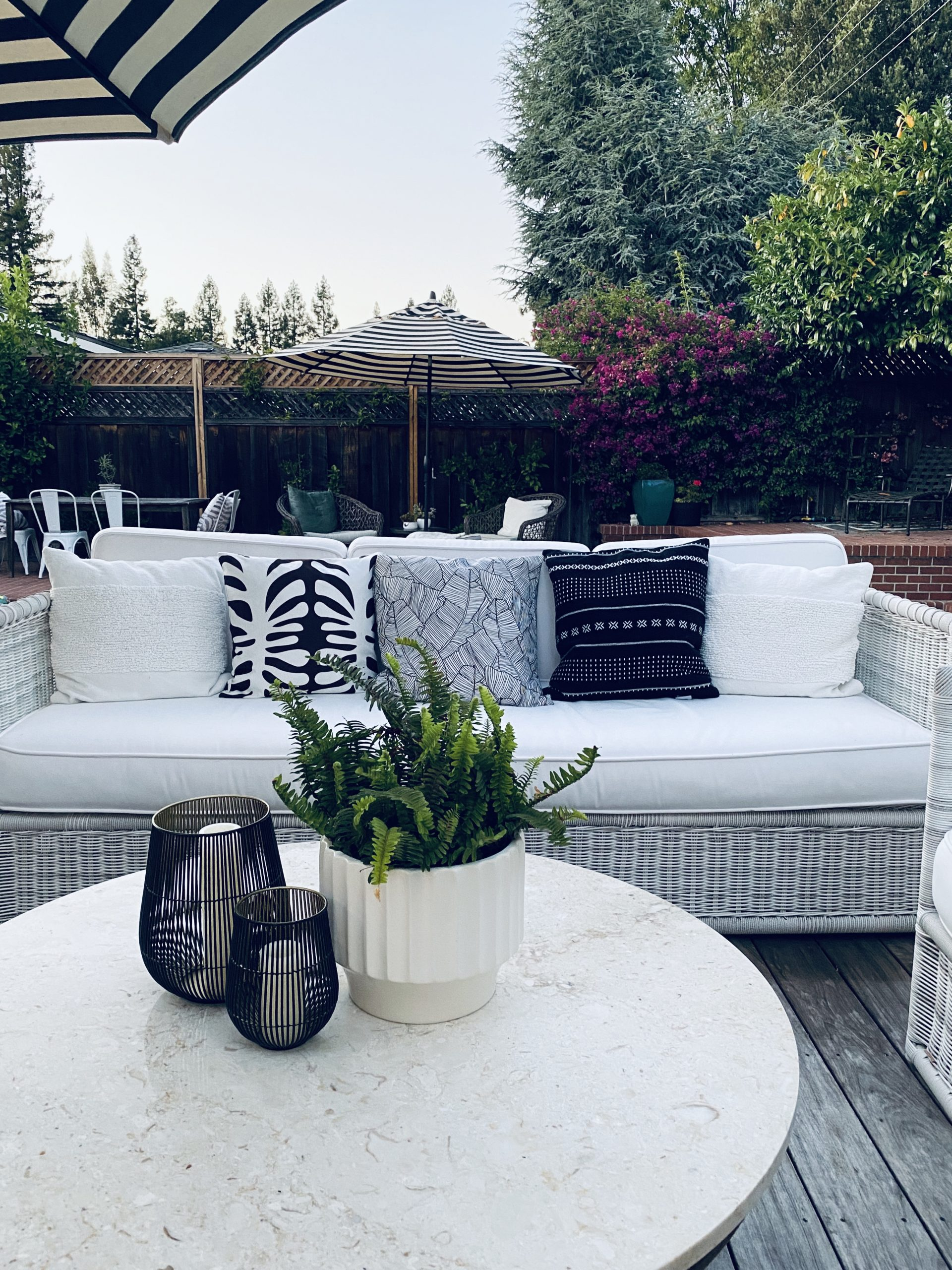 Outdoor Living With Style – 9  Bloggers  Share Their Spaces