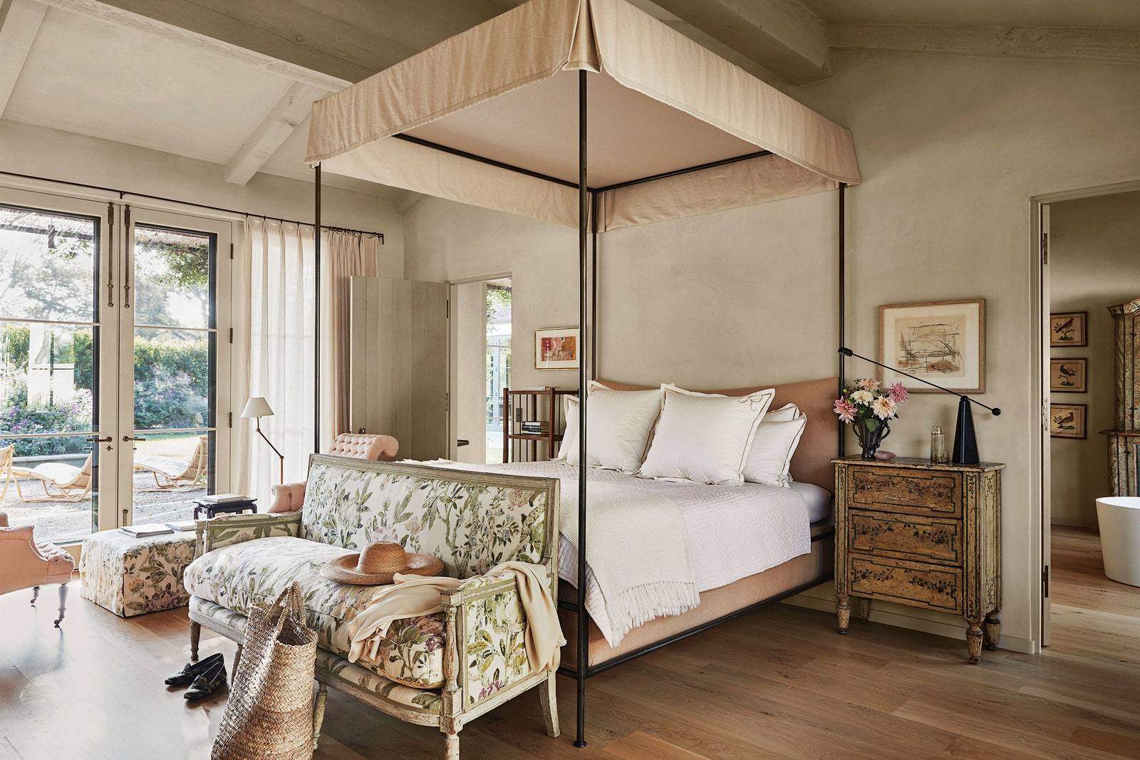 Suzanne Rheinstein's Montecito Retreat in AD